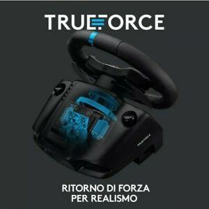 Logitech G923 Trueforce Volante Da Corsa E Pedali Fino 1000Hz Force Feedbak