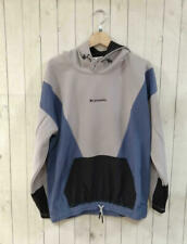 Switching anorak hoodie with logo Converse popular gray x beige