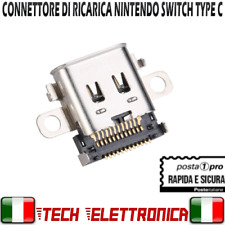 CONNETTORE DI RICARICA USB PORTA DOCK TYPE-C USB-C PER NINTENDO SWITCH RICAMBIO