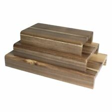 More details for olympia fsc riser made of acacia wood 50(h) x 250(w) x 145(d)mm - x 3
