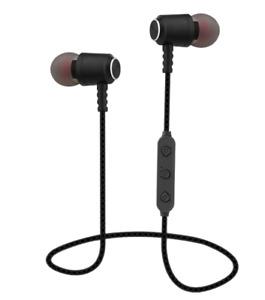 Premium Bluetooth In-Ear Kopfhörer Headset Sport Farbe Schwarz