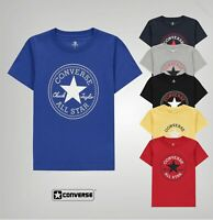 Boys Converse Soft Cotton Chuck Short Sleeve T Shirt Sizes Age from 3 to 7 Yrs