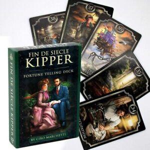 Fin De Siecle Kipper Tarot Fairy Deck Kartenset Wahrsagerin Faery Orakelkarten