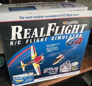 Real Flight R/C Simulator G4 with Interlink Elite Controller COMPLETE!