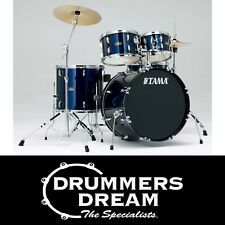 Brand New Tama Stagestar Drum Kit 5pce Set Blue Finish With Hardware & Cymbals