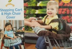 Goldbug Shopping Cart & High Chair Cover NIP