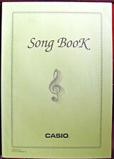Original Casio Song Book for CTK-720 Keyboard, 50 Song Bank and 50 Piano Bank