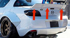 Mazda RX8 EPR RB Style Duck Tail  Rear Boot Trunk Spoiler