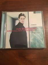 IAN BOSTRIDGE EUROPA GALANTE. FABIO BIONDI JS BACH:CANTATAS & ARIAS NEW CD!!