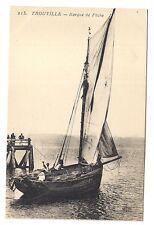 trouville  barque de pêche