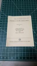 Military Jeep M422, M422A1 Operators Manual