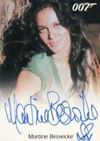 James Bond Archives 2014 Edition Martine Beswicke Autograph Card
