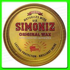 Simoniz Original Wax Polish [SIM0010] Carnauba Hard Shell Car Wax Yellow