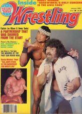 Inside Wrestling Magazine Captain Lou Albano Jimmy Snuka January 1983 022118nonr