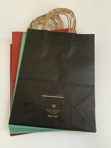 """Paper Gift Bags with Handles for Birthday Party Favors (8""""x10 1/2"""") 10 Bags. New"""