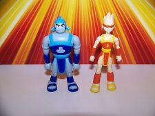 "Teen Titans Lot Thunder + Lightning Bandai 3.5"" Teen Titans JLU DC Universe"