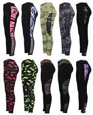 Womens Yoga Leggings Fitness Sports Gym Exercise Running Jogging Pants Trouser