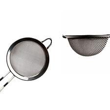 3pcs/Set Kitchen Stainless Steel Wire Fine Mesh Oil Strainer Flour Sifter Sieve