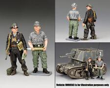 KING & COUNTRY WW2 GERMAN ARMY WH060 SPG CREW MEMBERS MIB