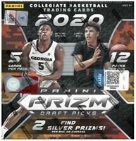 PANINI Prizm 2020 Basketball Draft Picks Mega Box