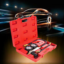Car Cylinder Engine Leak Tester Compression Leakdown Gauge Diagnostic Detector
