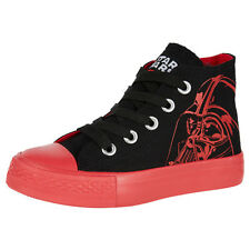 NWT Star Wars Licensed Boys Canvas High Top Sneakers Shoes Size 10 11 12 13 1 2