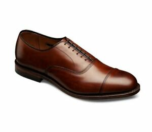 Shoes to Punta Oxford Genuine Leather Brown Mens Handmade