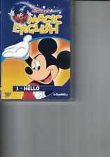 DVD - MAGIC ENGLISH - HELLO - N.1 - WALT DISNEY