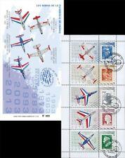"""PAF13-C2 : 2013 - Carnet Porte-timbres """"60 ans Patrouille de France"""
