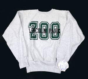 VTG Unworn 1990 Champion Reverse Weave Lincoln Park Zoo Sweatshirt USA Made M