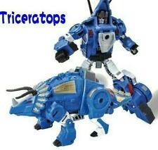 Transformer Metal version BMB Volcanicus Dino Force robot team Triceratops G6