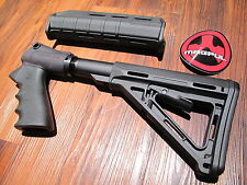 Mesa Tactical & Magpul Kit Mossberg 500 Black Pistol Grip 6 Position Stock Grip