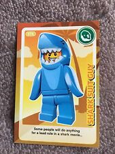 Lego Create The World Single Card Number 76 Shark suit Guy Sainsbury's