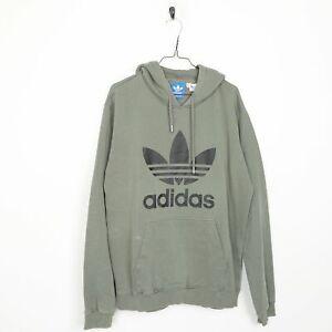 ADIDAS Big Logo Sweatshirt Hoodie Large L Grade B