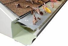 Aluminum Speed Screen Leaf Guard for Gutters (10 pack - 4' SECTIONS)