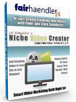 NICHE VIDEO CREATOR Erstellung von Webvideos YOUTUBE MYVIDEO CLIPFISH E-LIZENZ