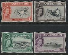 Ascension QEII 1956 1/ to 10/ mint o.g.