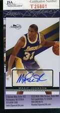 MAGIC JOHNSON JSA COA Autographed 2009 TOPPS Authenticated Hand Signed