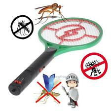 Rechargeable Electric Mosquito Swatter Fly Insect Pest Kill Bug Zapper Handheld