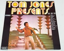 "Decca Records TOM JONES PRESENTS - 12"" LP Vinyl Album Record 1970 TVS-5 Stereo"