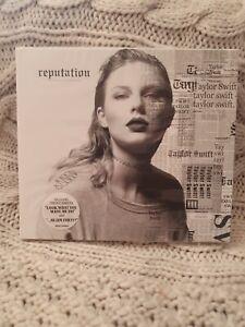 Taylor Swift - Reputation - CD NEW & SEALED in slipcase