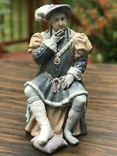 Henry Viii Lladro 1384, Limited Edition, Mint with Coa, Original Box
