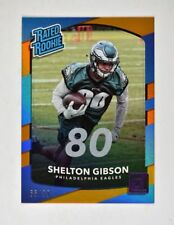2017 Donruss Jersey Number #333 Shelton Gibson RR /80 - NM-MT