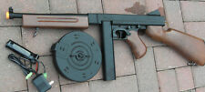 Airsoft Auto Electric Rifle Thompson Tommy Gun with 2 Magazine