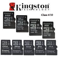 Kingston 8GB 16GB 32GB 64GB MicroSD SDHC SDXC C10 Class10 MicroSDXC Memory Card