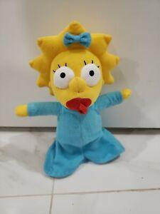 "SIMPSONS Maggie Simpson Matt Groening 14"" UNIVERSAL STUDIOS  Plush 2021"