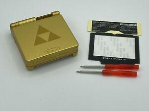 GameBoy Advance SP Replacement Shell The Legend of Zelda Triforce USA Seller