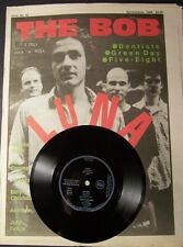 THE BOB Magazine w. LUNA Vinyl FLEXI + 2 (1994) NEW Thee Headcoats DENTISTS