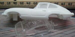 Resin HO SLOT CAR scale 1961 Jaguar E type t-jet body NEW casting