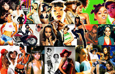 "Lisa ""Left Eye"" Lopez Collage Poster"